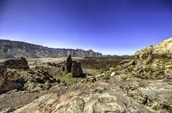 Desolate Volcanic Landscape stock photography