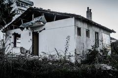 Desolated παλαιό κτήριο ιστορίας Στοκ εικόνα με δικαίωμα ελεύθερης χρήσης