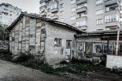 Desolated παλαιό κτήριο ιστορίας Στοκ Φωτογραφίες