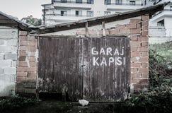 Desolated παλαιό κτήριο ιστορίας Στοκ εικόνες με δικαίωμα ελεύθερης χρήσης