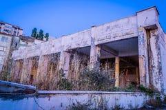 Desolated здание Стоковые Фотографии RF