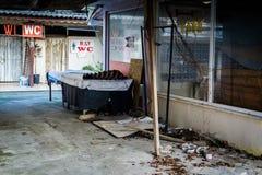 Desolated масленица и справедливая область Стоковое Фото