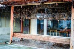 Desolated масленица и справедливая область Стоковые Фото