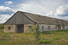 Desolated barn Royalty Free Stock Photos