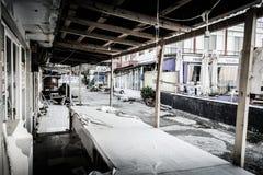 Desolated Carnival And Fair Area Stock Photos