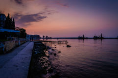 Desolated Sea Port Royalty Free Stock Images