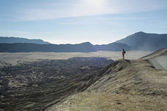 Desolated views in Bromo Stock Photography