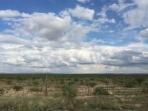 Desolation Техаса стоковое изображение