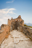 Desolation of the great wall Royalty Free Stock Photos