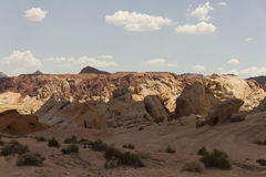 Desolation Texture. A desolated section of The Valley of Fire, Nevada stock photo