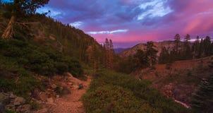 Desolation Wilderness Sunset Stock Photos