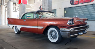 1957年DeSoto汽车 库存照片