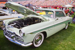 经典之作1955年DeSoto汽车 免版税库存图片