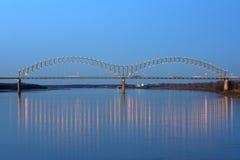 desoto bridżowy hernando zdjęcia stock