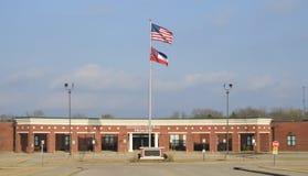 Desoto central grundskola för barn mellan 5 och 11 år, Hernando Mississippi Arkivfoto