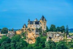大别墅de城堡souillac perigord法国 库存照片
