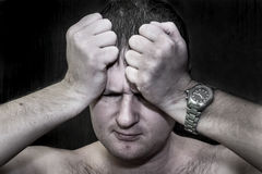 Despair and depression Stock Photography
