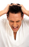 Despair and stress Royalty Free Stock Photo