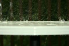 Despedir el agua en el vector Fotografía de archivo