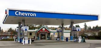 Despensa da cidade de Chevron fotos de stock royalty free