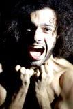 Desperacki mężczyzna krzyczeć Obraz Royalty Free