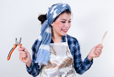 Desperate housewife Royalty Free Stock Photos