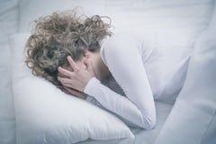 Desperate sad girl Stock Photos