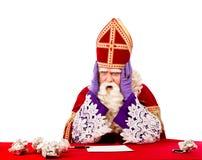Desperate St.Nicholas Royalty Free Stock Photos