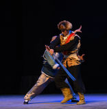 """A desperate struggle-Peking Opera """"Taking Tiger Montain By Strategy"""" Royalty Free Stock Images"""