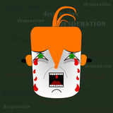 Desperation illustration Royalty Free Stock Photos
