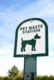 Desperdício do animal de estimação Imagens de Stock Royalty Free
