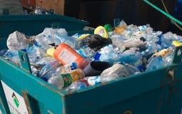 Desperdício do plástico Foto de Stock Royalty Free