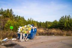 Desperdício doméstico Fotografia de Stock