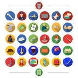 Desperdício, ecologia, natureza e o outro ícone da Web no estilo dos desenhos animados Turquia, atributos, turismo, ícones na col Imagem de Stock Royalty Free
