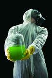 Desperdício levando do produto químico Foto de Stock Royalty Free