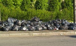 Desperdício municipal Fotos de Stock Royalty Free