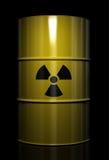 Desperdício radioativo ilustração royalty free