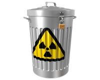 Desperdício radioativo Fotos de Stock Royalty Free