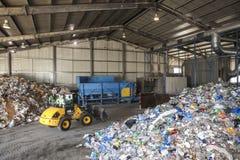 Desperdício reciclável fotografia de stock