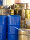 Desperdício tóxico Foto de Stock Royalty Free