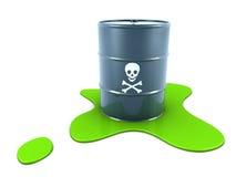 Desperdício tóxico ilustração do vetor