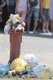 Desperdício urbano Imagens de Stock Royalty Free