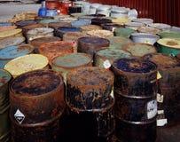 Desperdício tóxico Fotos de Stock Royalty Free