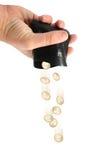 Desperdiçando o dinheiro Imagens de Stock