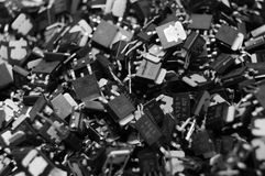 Desperdicio-Transistor electrónico Imágenes de archivo libres de regalías