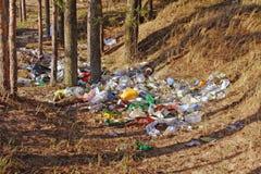 Desperdicios Foto de archivo libre de regalías