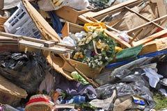Desperdicios del hogar y garbash-2 Imagen de archivo libre de regalías