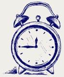 Despertador ilustração royalty free