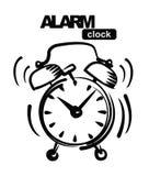 Despertador Imagem de Stock