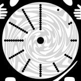 Despertador (abstracción) Ilustración del Vector